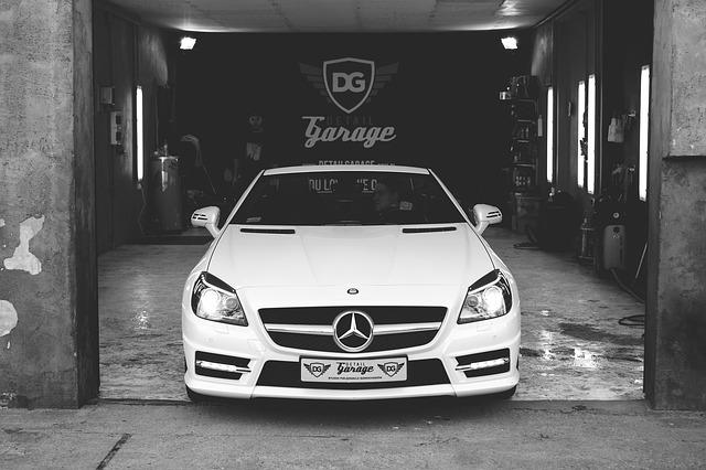 čisté auto