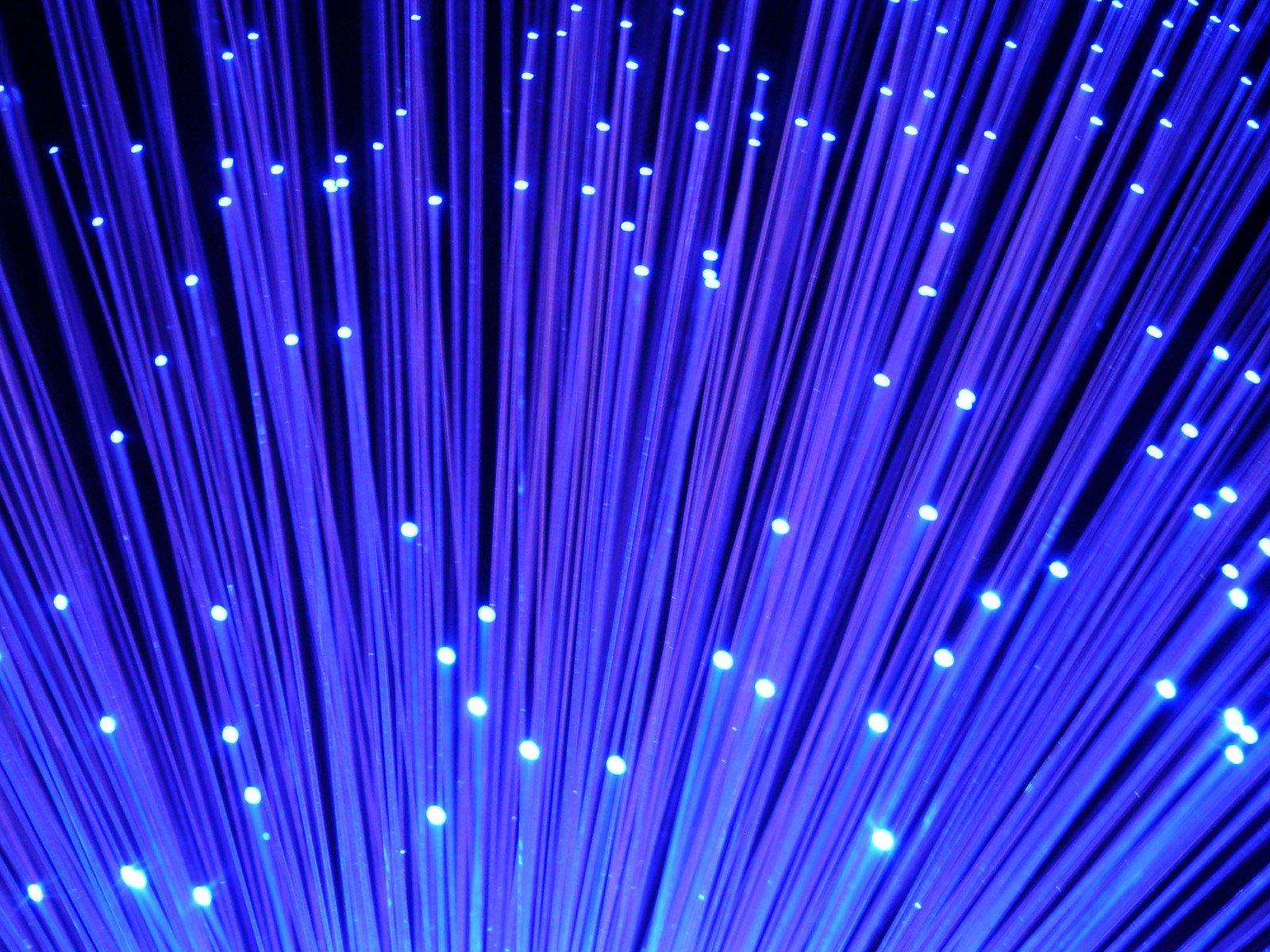 modré osvetlenie